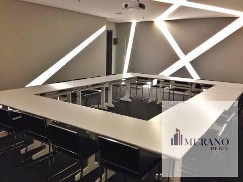 Sala/Conjunto para venda com 42 metros quadrados em Valongo - Santos - SP - Foto 8