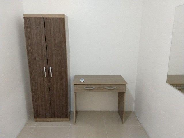 Vendo apartamento semimobiliado térreo 2 quartos - Foto 12