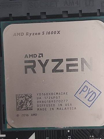Kit Ryzem 1600X + 2 x 4gb de memória  - Foto 2