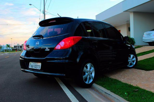 Nissan Tiida Sl 1 8  1 8 Flex 16v Aut  2012