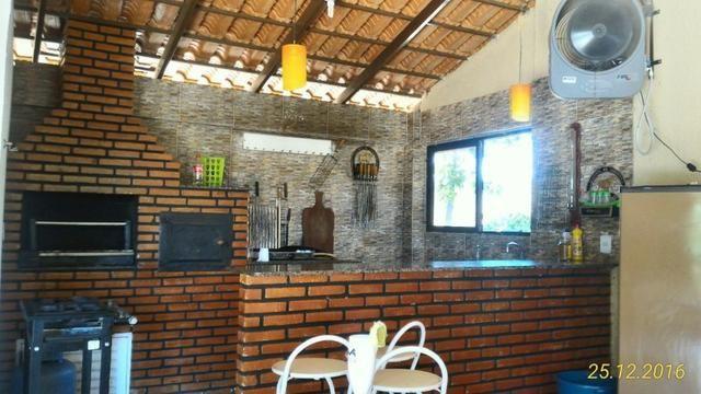 Chácara de 10.000m² no Corumbá III. Casa, piscina aquecida, área de lazer c/ churrasqueira - Foto 8