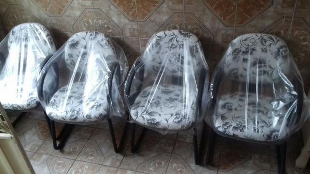 Conjunto de cadeira c/ 4