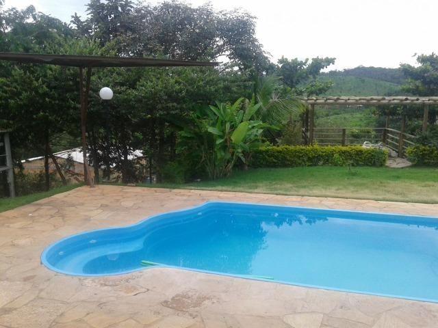 Chácara de 10.000m² no Corumbá III. Casa, piscina aquecida, área de lazer c/ churrasqueira - Foto 10