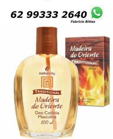 Madeira do Oriente - Deo Colônia Masculina 100 ml Natubelly