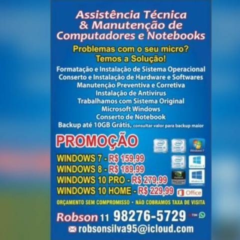 Assistência Técnica e Serviços de Informatica