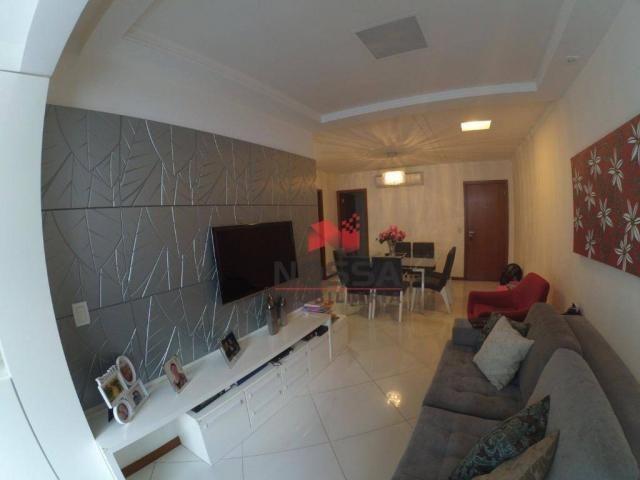 Apartamento 3 quartos em Jardim Camburi com 4 vagas, montado e decorado - Foto 3