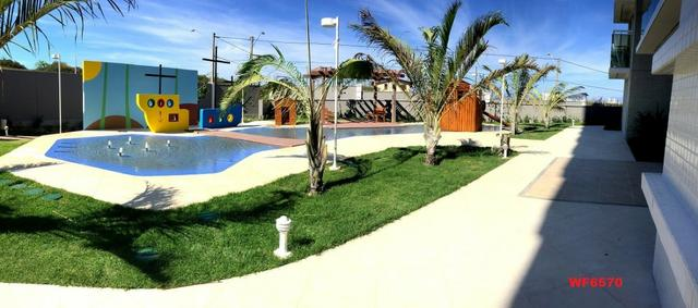 Living Resort, Santorini, 145m², 3 suítes, gabinete, 3 vagas, vista mar, lazer completo - Foto 14