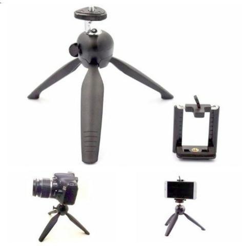 Mini Tripé Monopod Articulado Yunteng YT-228 para Câmera Celular + Brinde Suporte par - Foto 3