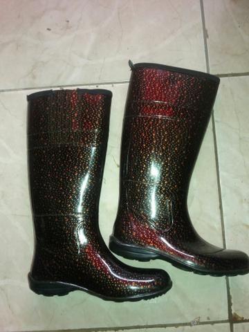 561c04eab79 Bota galocha Pat n.33 34 - Roupas e calçados - Lindóia
