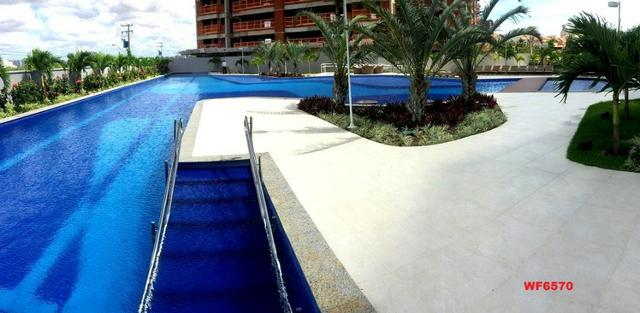 Living Resort, Santorini, 145m², 3 suítes, gabinete, 3 vagas, vista mar, lazer completo - Foto 12