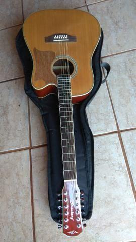 Vendo ou troco violão 12cordas strinberg