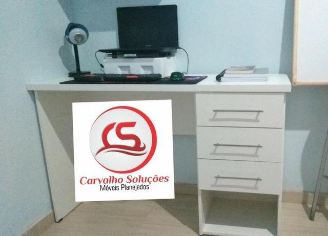 Mesa em mdf para escritorio ou para estudo - Foto 2