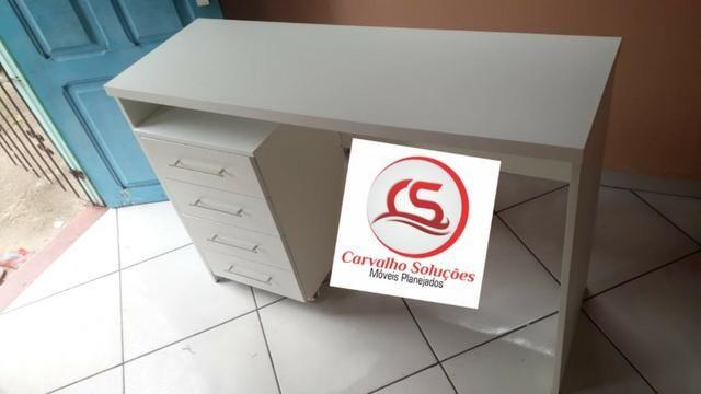 Mesa em mdf para escritorio ou para estudo - Foto 3