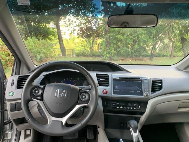 Honda Civic LXR 2.0 Aut. 2014 Único dono C/Todas as revisões feitas na concessionária - Foto 7