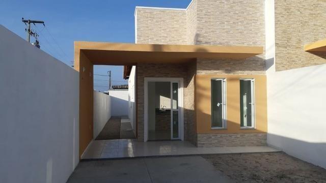 Casa de Esquina com Escritura Grátis, 02 Quartos, 02 Wc, Garagem e Quintal - Foto 5
