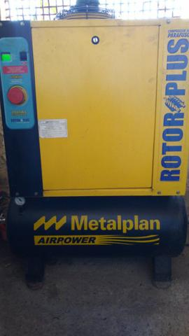 Compressor Parafuso Metalplan 6 Hp - Foto 5