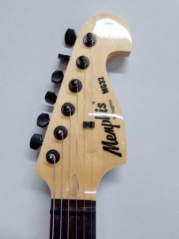 Guitarra Tagima Memphis Mg 32 Bk Kit Completo, novo, sem uso - Foto 3