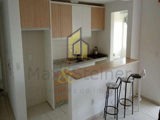 Ingleses& 1km da Praia, Apartamento Semi Mobiliado com Móveis Planejados, 02 Dormitórios - Foto 12