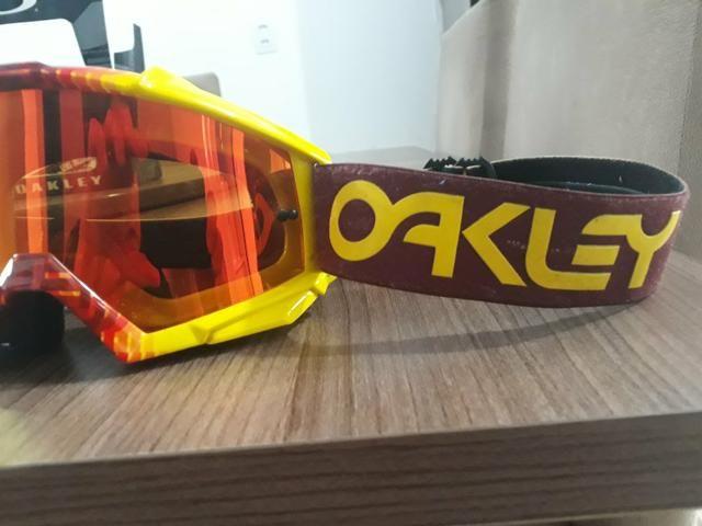 Óculos Oakley Original Espelhado com lente Extra - Foto 3