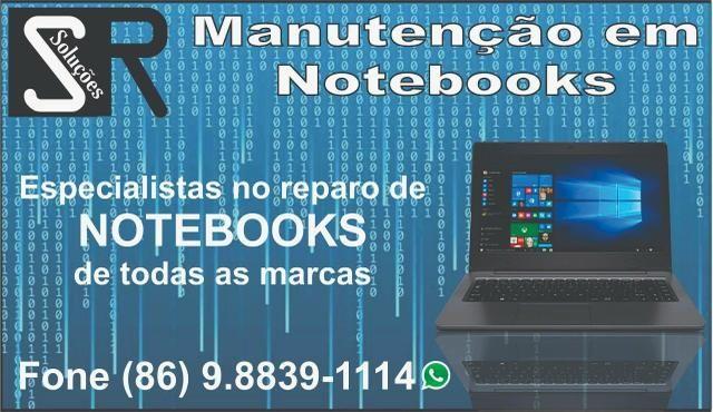 Manutenção em Notebook