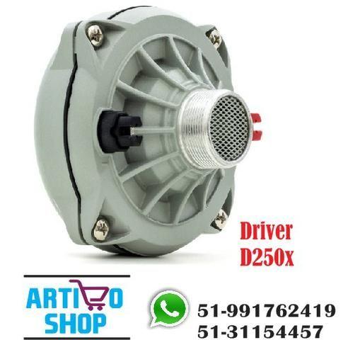 Driver D250x 100w Rms Jbl Selenium D 250x 8 Ohms Som Automotivo