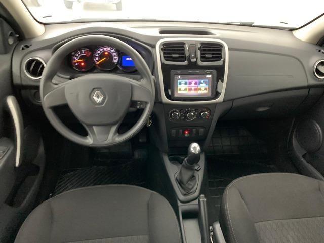 Renault-Sandero 2019 Expression 1.0 12v Flex Sem Entrada - Foto 7