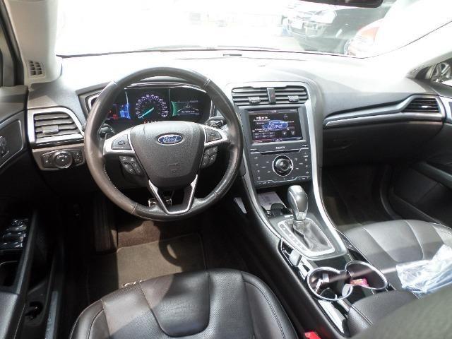 Ford Fusion AWD Titanium 2.0 Ecoboost 2014 Completo - Foto 9