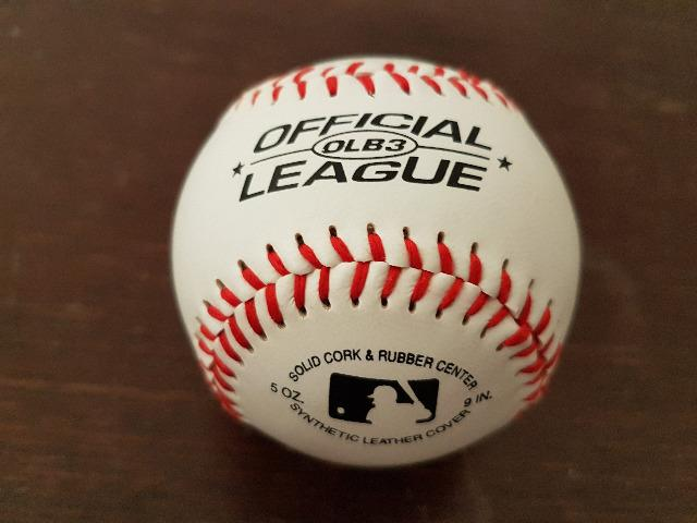 Bola de baseball original OLB3 - Rawlings - Foto 3
