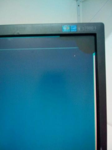 Monitor samsung 17 polegadas com pequena mancha - Foto 4