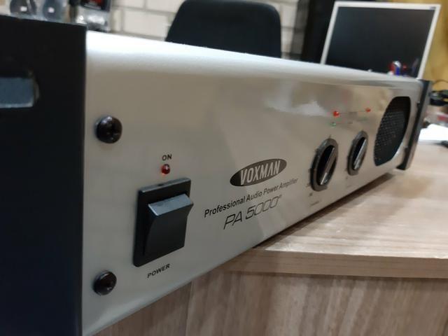 Amplificador 500rms voxman novissimo - Foto 2