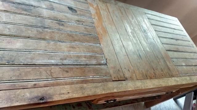 Mesa rustica! troco por sofa bom estado