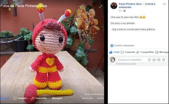 Santa Luzia Receita padrão de Márcia Scarpelli e Karina Peres ... | 393x640