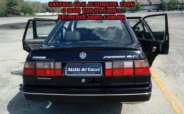 Santana GLSi 1996 Automatic Top de Linha com Teto Solar e Couro - Foto 2