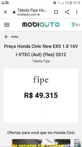 Vendo honda civic exs 2012 R$ 39.000 - Foto 10