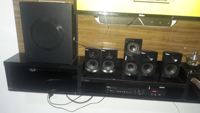 Home theater 350 reais