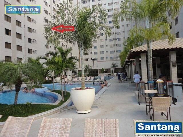 Apartamento com 1 dormitório à venda, 32 m² por R$ 100.000,00 - Turista I - Caldas Novas/G - Foto 18