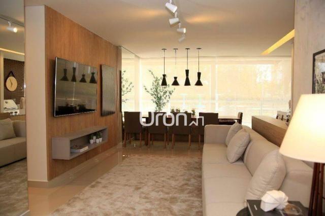 Apartamento com 3 dormitórios à venda, 94 m² por R$ 451.000,00 - Jardim Atlântico - Goiâni - Foto 4