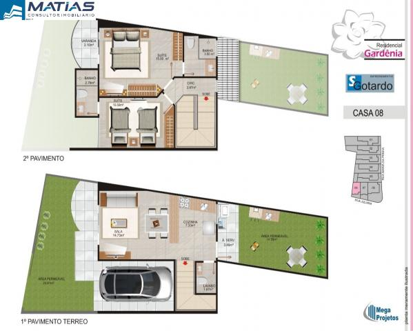 Casa duplex 2 quartos sendo 1 suíte com quintal no bairro Ipiranga, próximo ao Centro de G - Foto 12