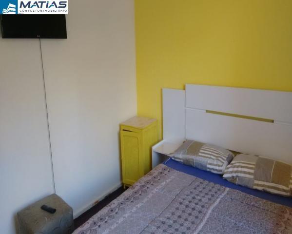 Quarto/Sala REFORMADO e MOBILIADO com 1 vaga no Centro de Guarapari - Foto 8