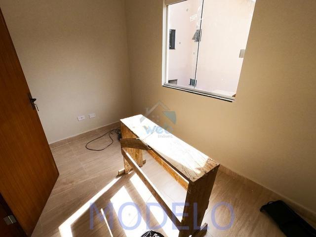 Sobrado à venda com 2 quartos, 72,99 m², terraço, próximo ao Santuário da Divina Misericór - Foto 16