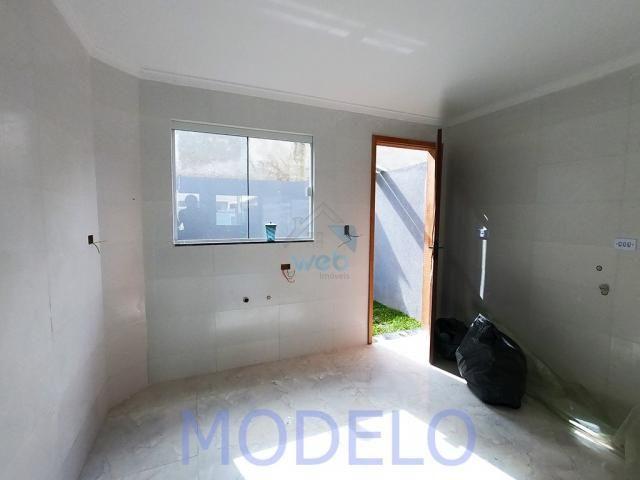 Sobrado à venda com 2 quartos, 72,99 m², terraço, próximo ao Santuário da Divina Misericór - Foto 7