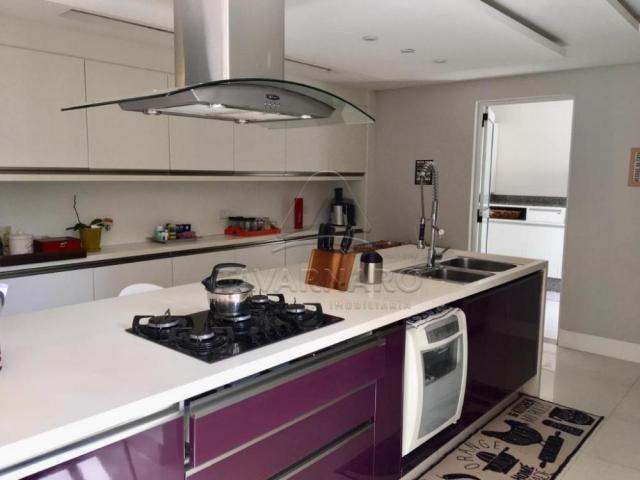 Casa de condomínio para alugar com 4 dormitórios em Oficinas, Ponta grossa cod:L1260 - Foto 4