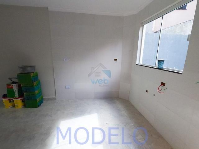 Sobrado à venda com 2 quartos, 72,99 m², terraço, próximo ao Santuário da Divina Misericór - Foto 9