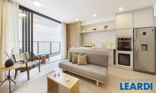 Apartamento à venda com 1 dormitórios em Pinheiros, São paulo cod:603776 - Foto 2