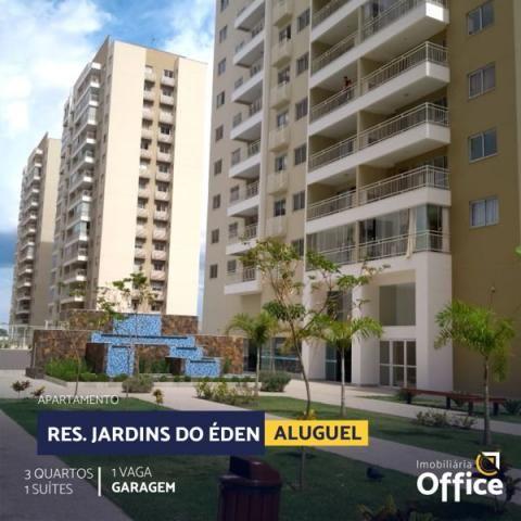 Apartamento com 3 quartos no Jardins do Éden - Bairro Jardim das Américas 2ª Etapa em Aná