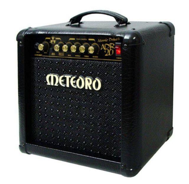 Vendo - Guitarra Giannini + Caixa Meteoro ADR 20w - Foto 3