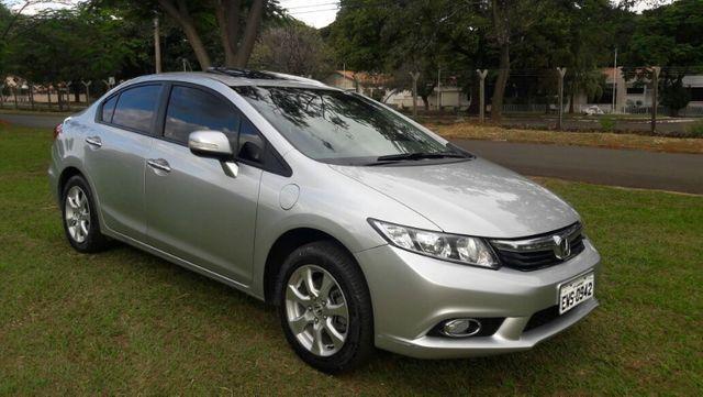 Honda Civic EXS Automatico Top de Linha + Teto Solar 2012