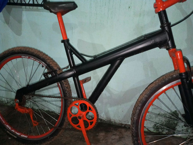 Vendo bicicleta quadro de Alumínio - Foto 5