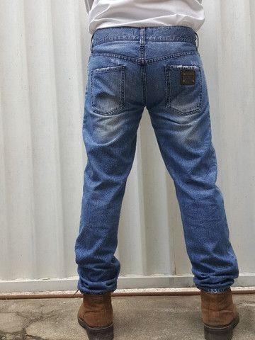 Calça jeans dolce&gabbana placa da marca - Foto 5