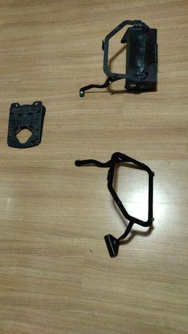 Suporte lateral e traseiro baú GIVI e caixa de ferramentas F800 GS - Foto 5